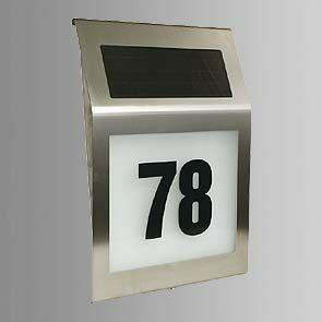pro design solar huisnummerverlichting